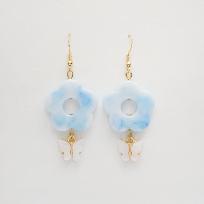 I Make Flower Earrings