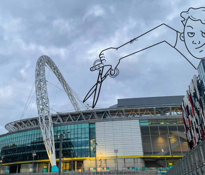 I Take The Pictures Around London And Make Illustrations On Top Of Them To Transform Them Into Something New (12 Pics)