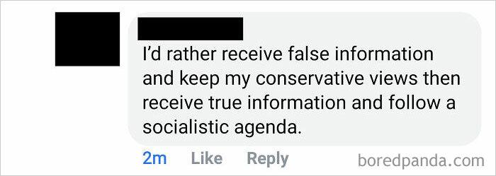 """""""I'd Rather Receive False Information..."""""""