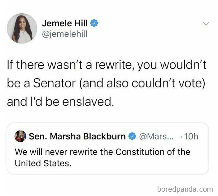 """""""We Will Never Rewrite The Constitution"""""""