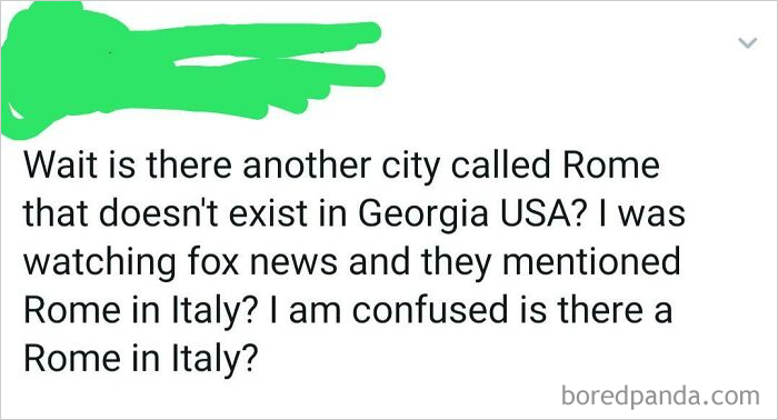I Am Confused Is There A Rome In Italy?
