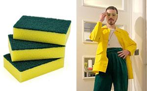 Este diseñador se vuelve viral por crear ropa basada en comida, bebida y productos de limpieza (16 fotos)