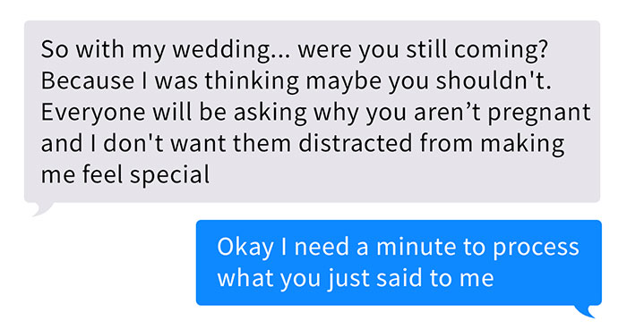 Lunatic Bride Is Scared Her Friend Who Had A Stillbirth Would Steal All The Attention At The Wedding, Gets Dumped By The Groom