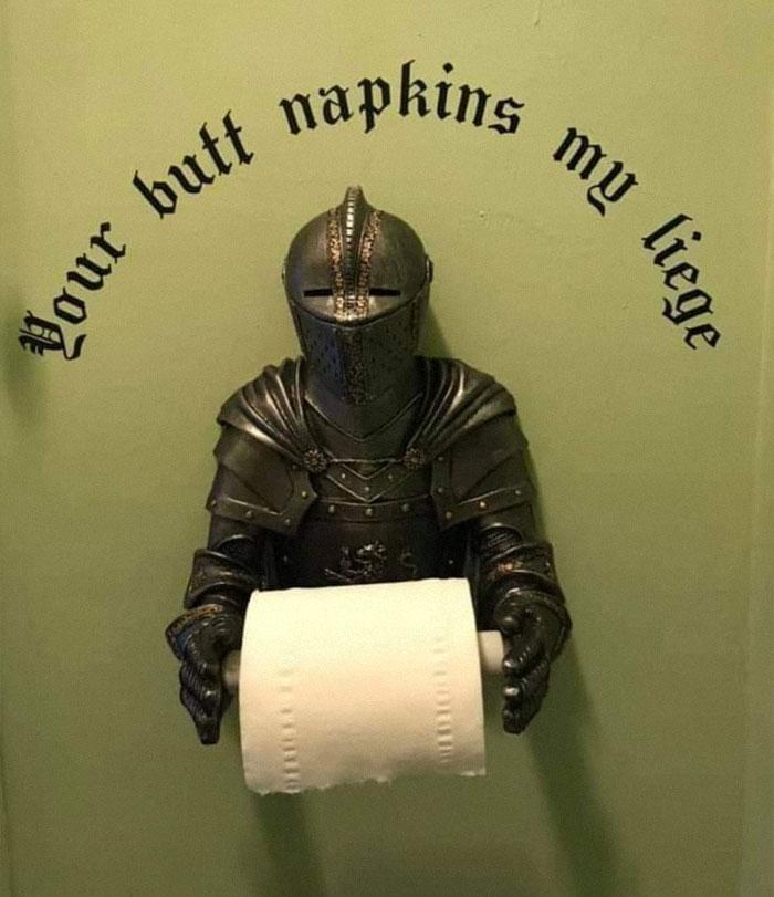 Butt Napkins