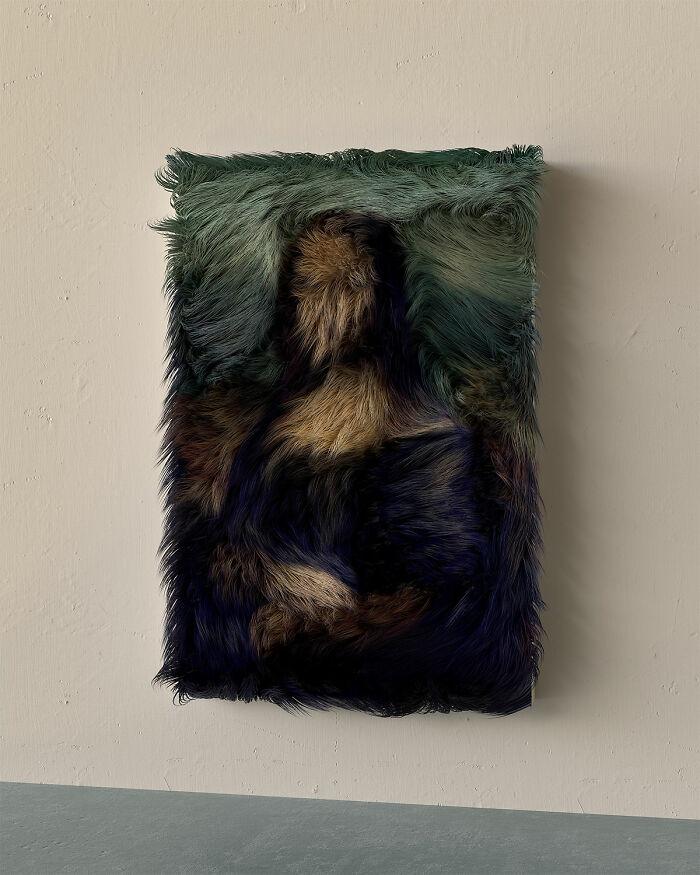 Furry Mona Lisa...