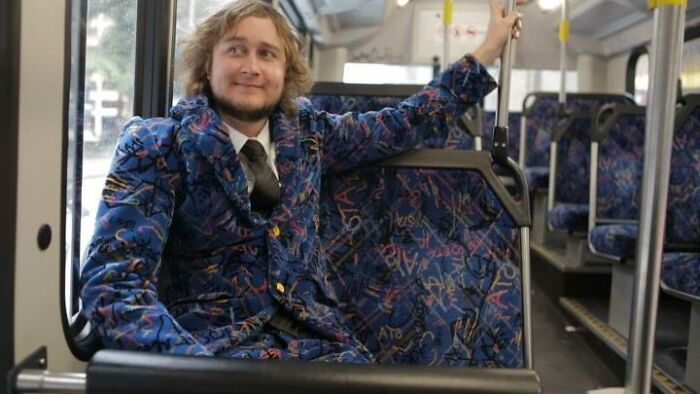 Sydney Buses Seat Fabric Suit