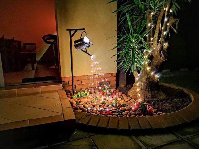 A Little Garden Lighting Project