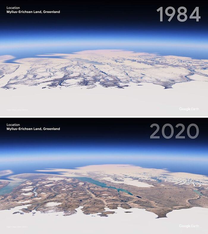 Tierra de Mylius-Erichsen, Groenlandia