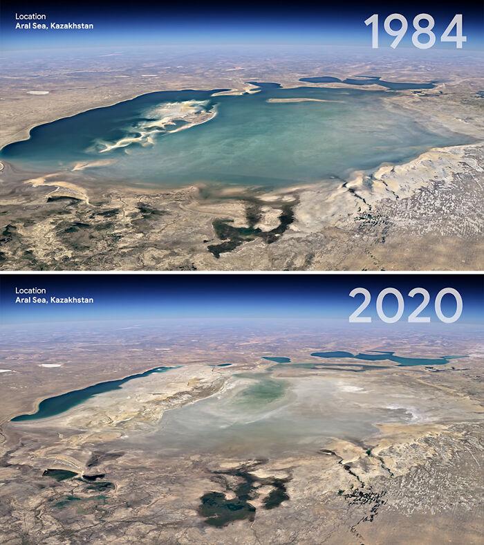 Mar de Aral, Kazajistán