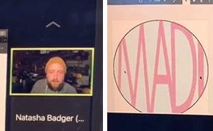 Este profesor de diseño gráfico se hace viral por burlarse con gracia de los trabajos de sus alumnos