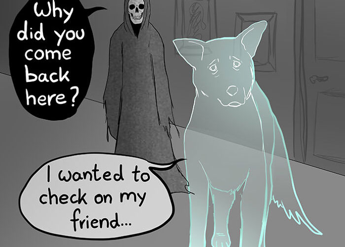 Artist Who Makes People Cry With Her Comics Released A Sequel To 'Little Fish' About The Spirit Of A Dog Visiting Its Owner Who Got A New Puppy