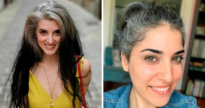These 30 Women Who Ditched Dyeing Their Hair Look So Fabulous, They May Convince You To Do The Same (New Pics)