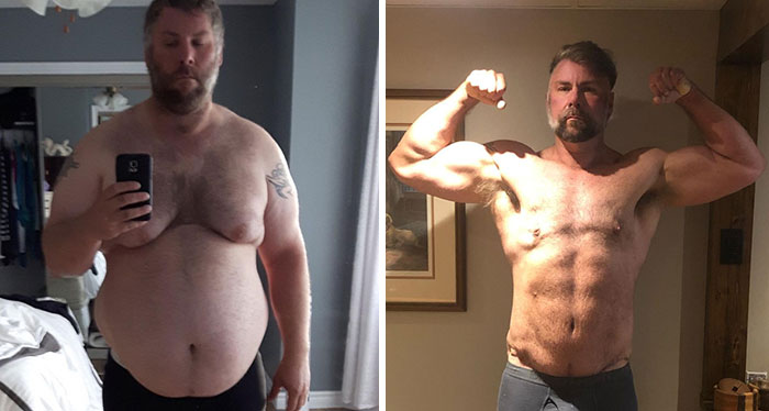 Guy Loses Half Of His Body Weight After Surviving A Near-Fatal Heart Attack And Looks Unrecognizable