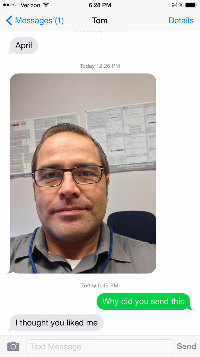 The Things My Dad Sends My Mom