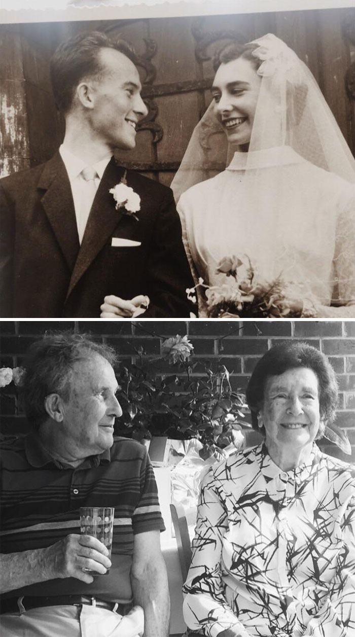 60 Years On And My Grandad Still Looks At My Granny With So Much Love