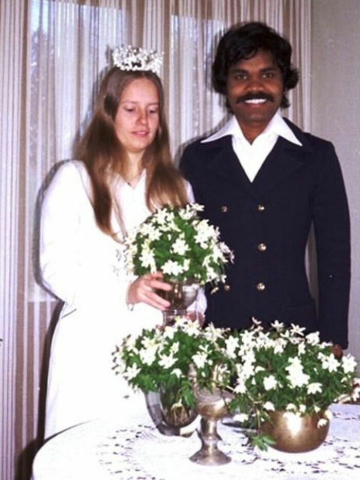 In 1978, An Indian Man Travelled From India To Sweden On A Bicycle To Reunite With A Woman He Met While She Was On Vacation In India