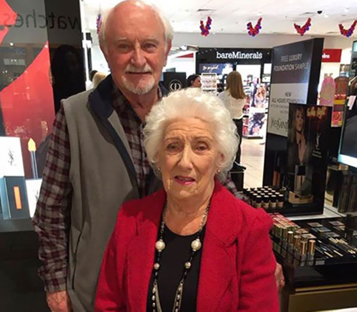 Elderly Man Learns To Do Wife's Makeup Before She Turns Blind