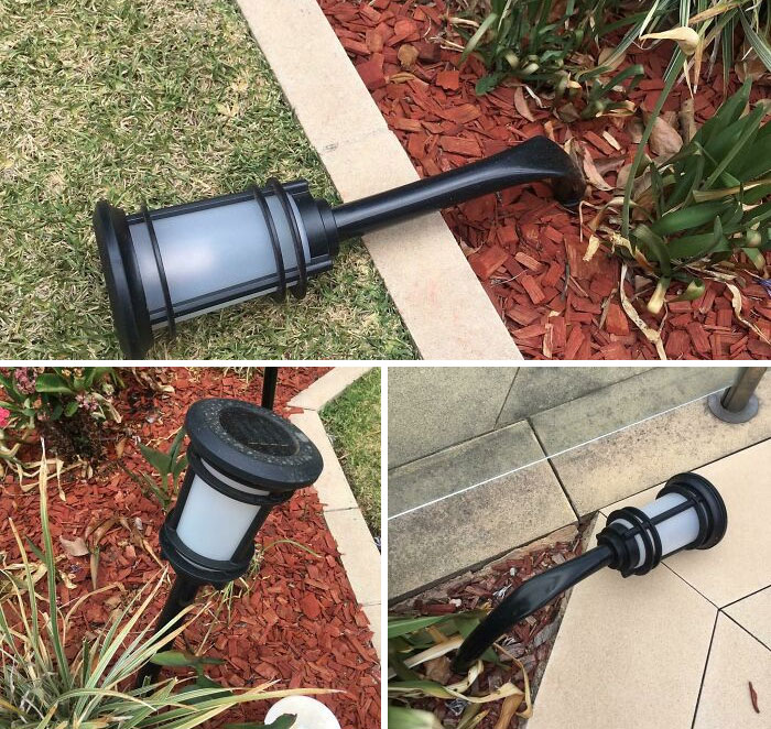 It's So Hot In Australia, Our Outdoor Lights Melted