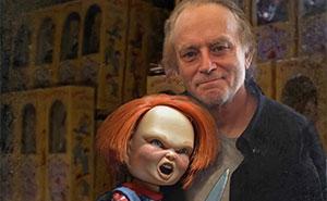 Este artista muestra a actores junto a sus personajes terroríficos (18 imágenes)