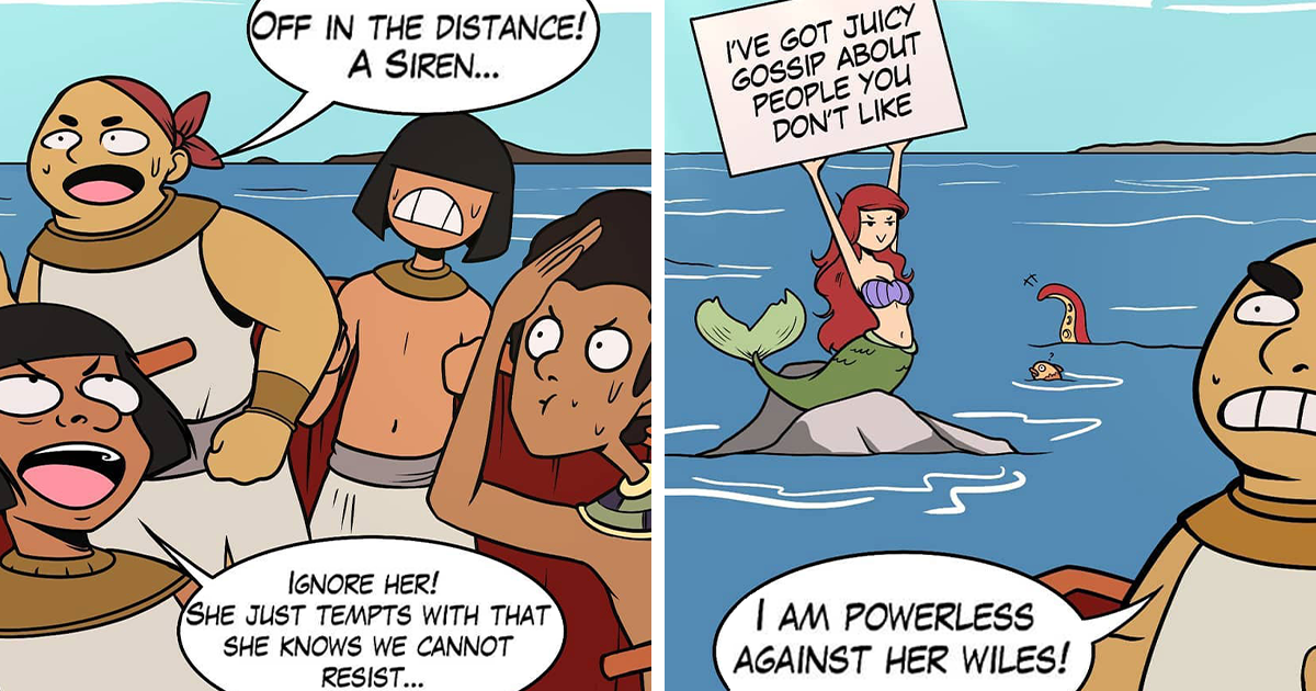 Artist Creates Humorous And Fun Comics About Ancient Egypt (136 Pics) - bored panda