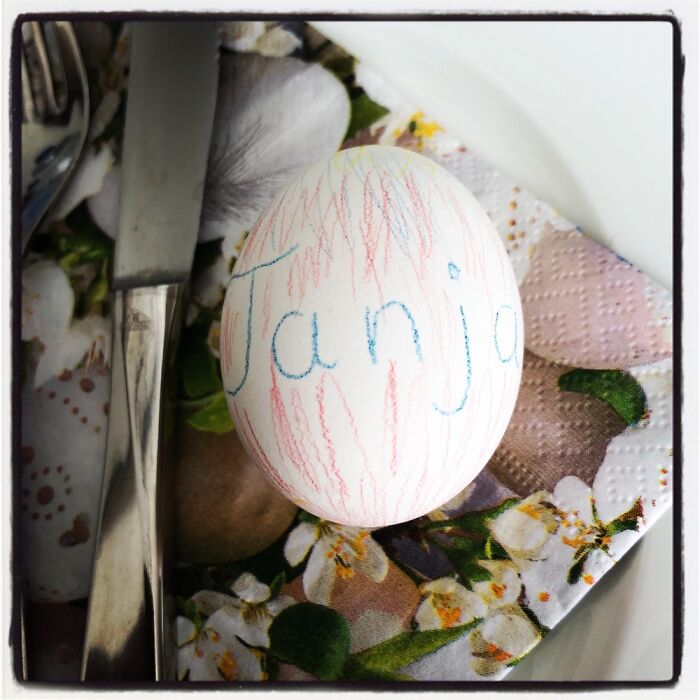 Easter!🐣 I Am 43 And My Mom Still Decorates Our Eggs♥️