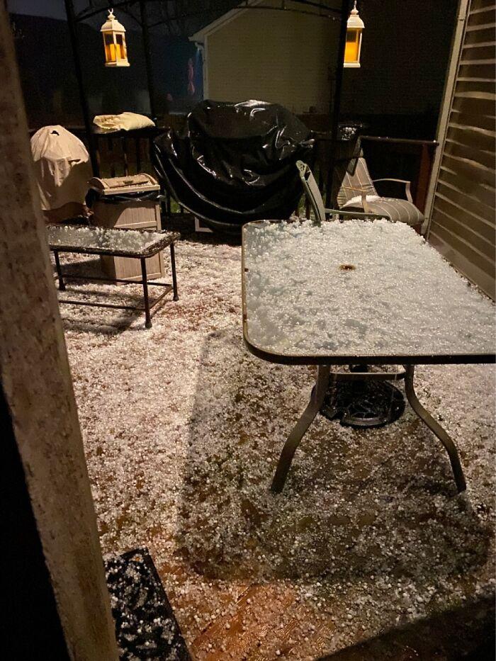 That. Is. Hail.