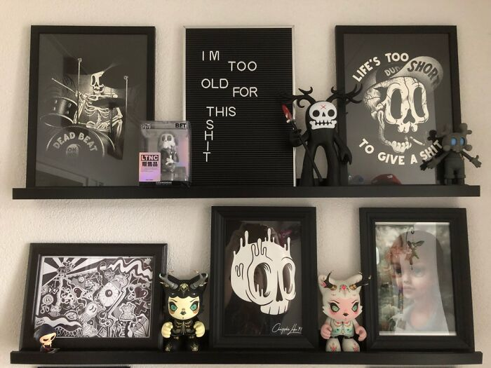 I Collect Cool Art Toys And Prints From Artists I Love