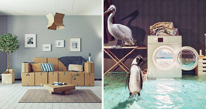 Victor Zastolskiy Created These 54 Surreal Interior Designs