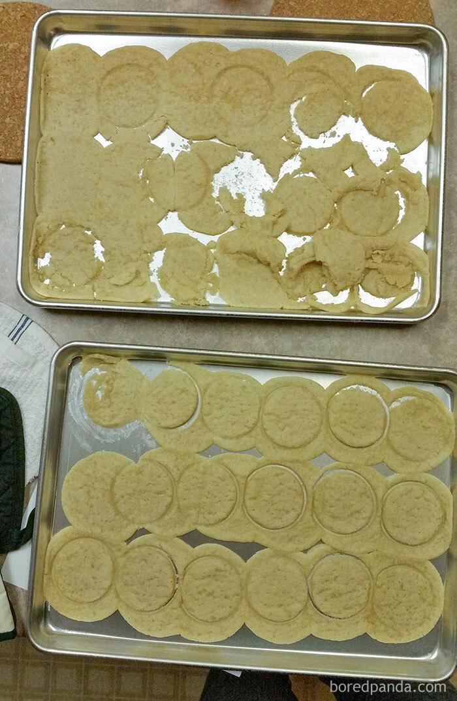 Mi suegra intentó hacer galletas estando borracha
