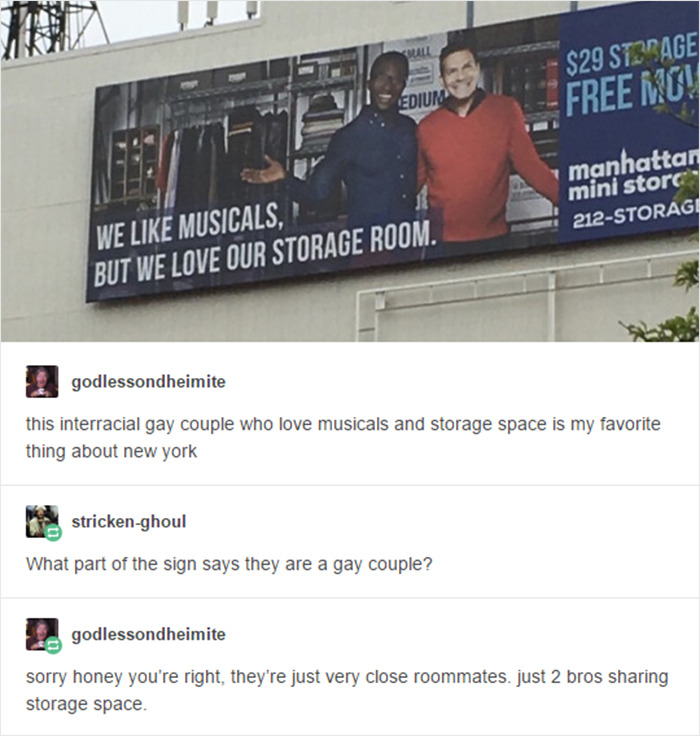 Two Bros Sharing Storage Space