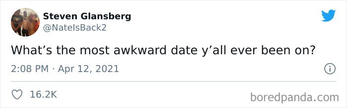 People Are Sharing What Happened During Their Most Awkward Dates (97 Tweets)