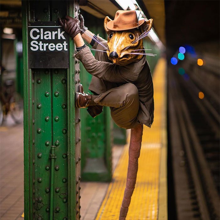 Photographer Captures The Unique And Amazing People Of The New York Subway (40 Pics)