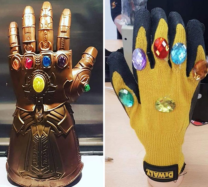 A Mate Of Mine Ordered An Infinity Gauntlet From A Dodgy Website That Only Asked For Postage