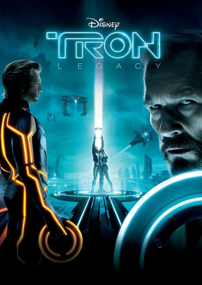 Tron Man, This Movie Was The Best, I've Watched It Hundreds Of Times...