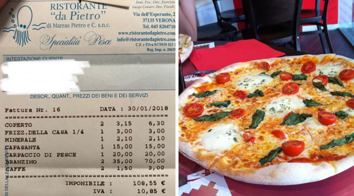In Italy, Restaurants Include Service Charge
