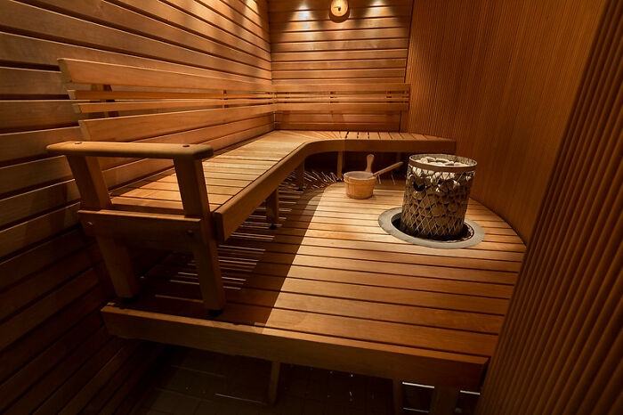 Sitting In A Sauna In Finland Can Be A Competition
