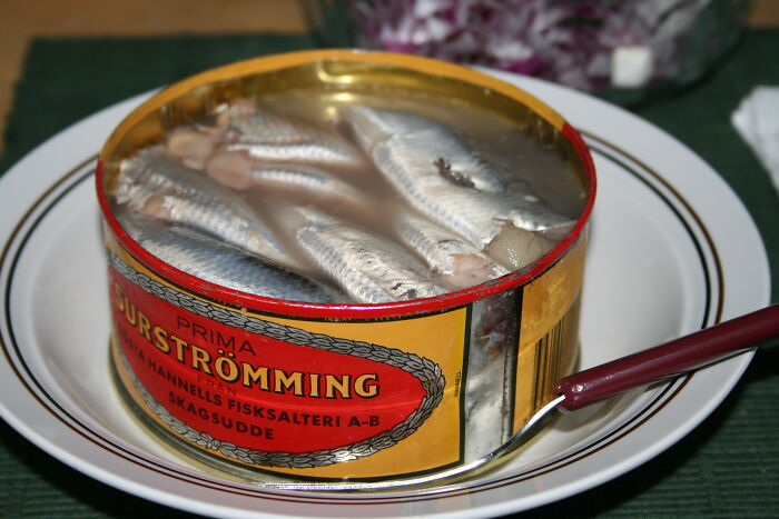 In Sweden, Rotten Fish Is A Food Item