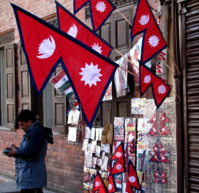 Nepal's Flag Is Non-Rectangular
