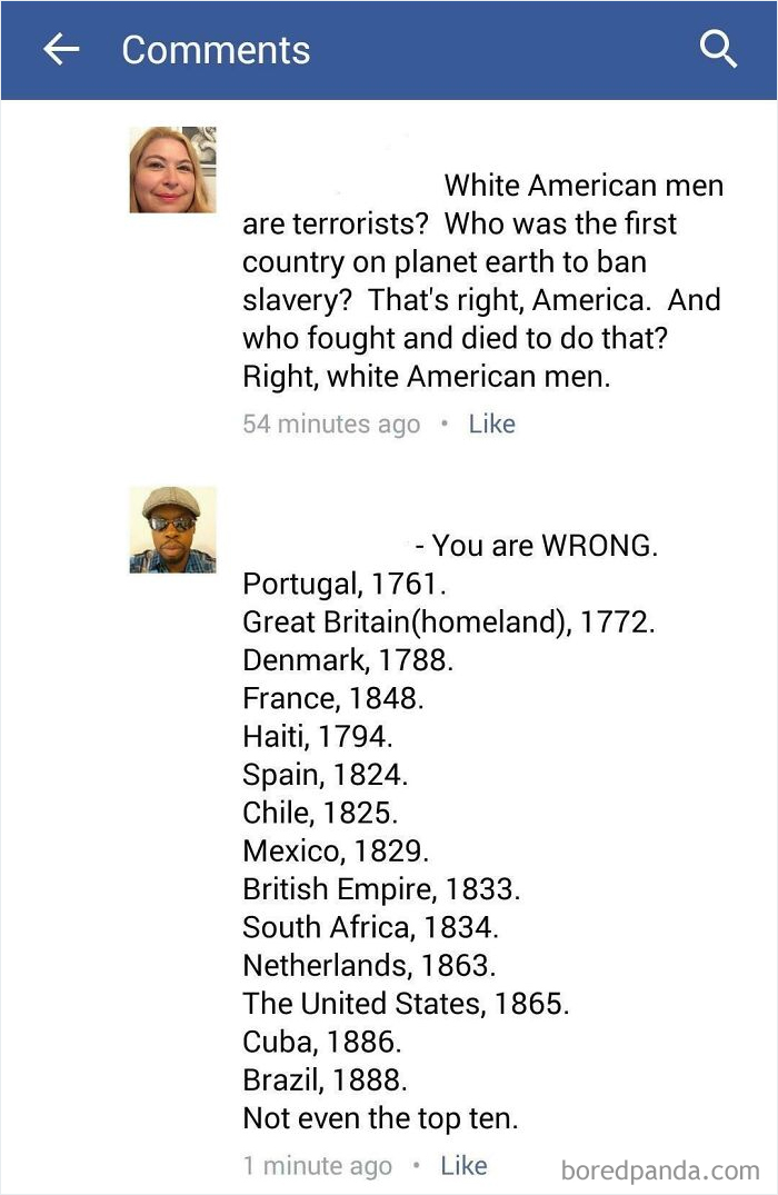 """""""Who Was The First Country On Planet Earth To Ban Slavery? That's Right, America"""""""