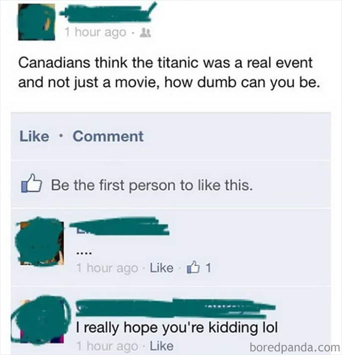The Titanic Is Just A Movie, Right?