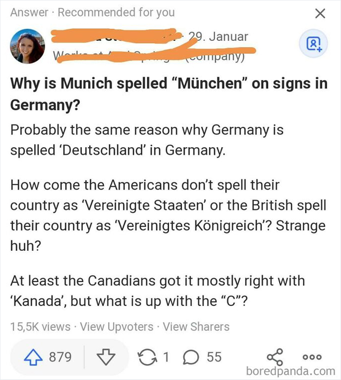 """Why Is Munich Spelled """"München"""" On Signs In Germany?"""