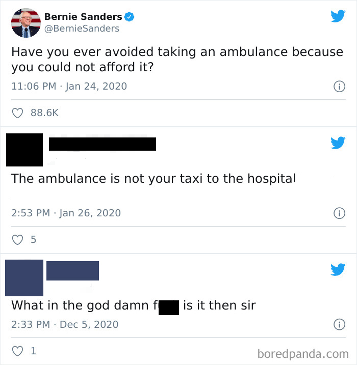 The Ambulance Is Not Your Taxi To The Hospital
