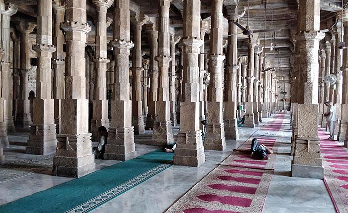 Not A Glitch In The Photo, Jama Masjid, Ahmedabad