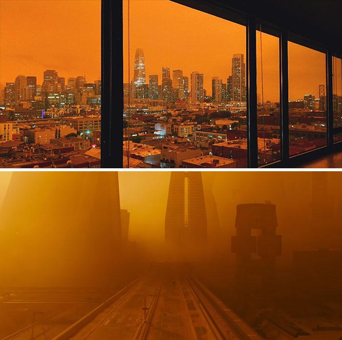 San Francisco parece Blade Runner 2049