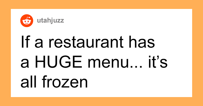 "30 Chefs Reveal Restaurant ""Red Flags"" That Indicate You Should Eat Somewhere Else"