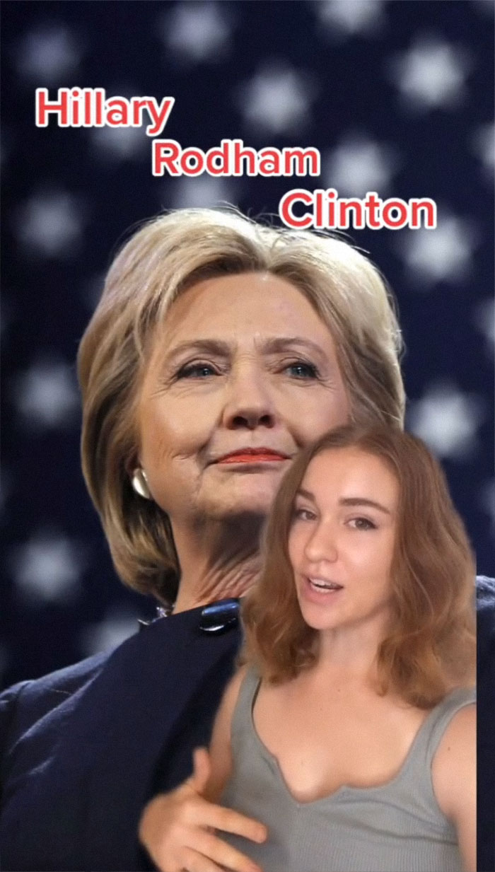 Hillary Clinton - Descrita por una camarera