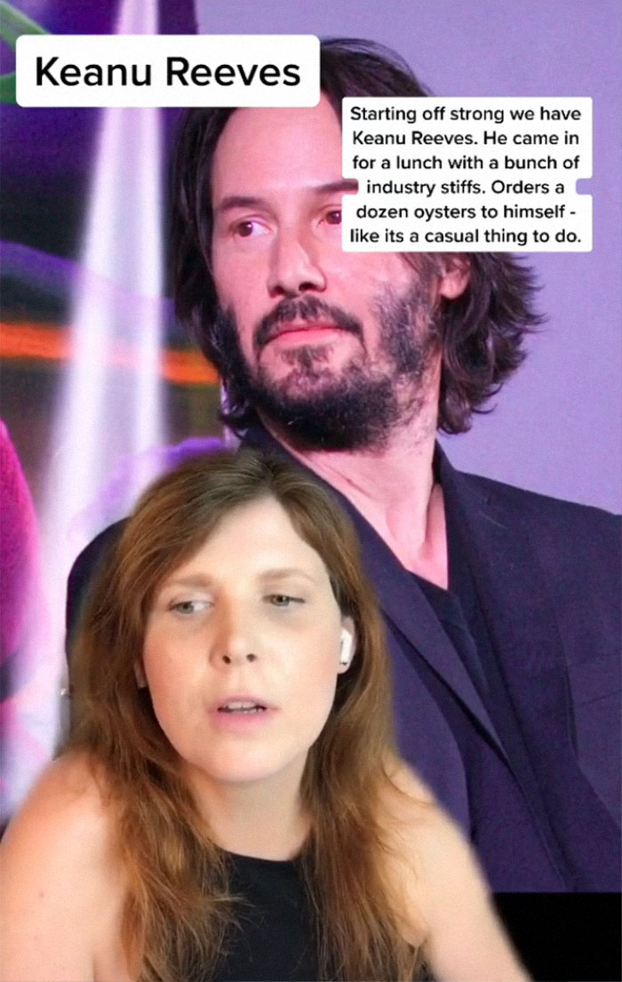 Keanu Reeves - Described By A Waitress