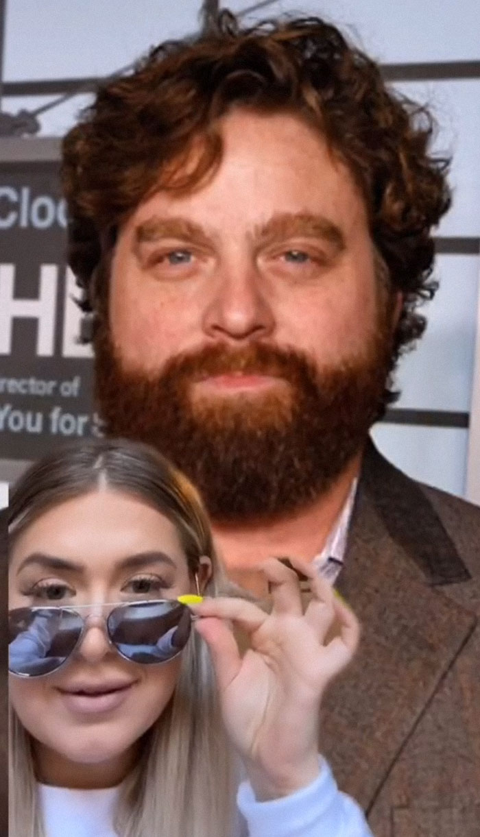 Zach Galifianakis - Described By An Apple Store Employee