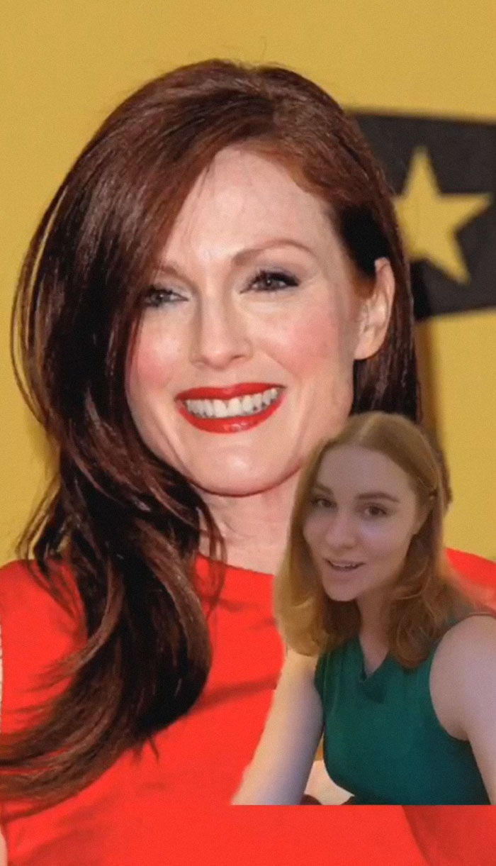 Julianne Moore - Described By A Server
