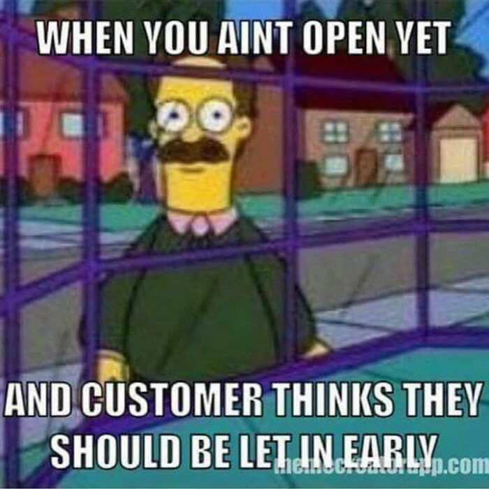 Every Time I Do A Weekend Open
